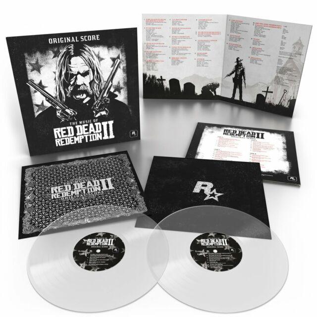 THE MUSIC OF RED DEAD REDEMPTION 2: ORIGINAL SCORE (2xLP)