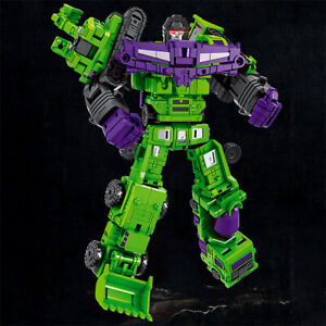 21cm-Tall-G1-Devastator-Transformer-Figure-6-in-1-Multiple-Form-Changes-No-Box