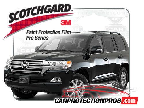 2016-2019 Toyota Land Cruiser 3M Pro Series Standard Paint Protection Kit
