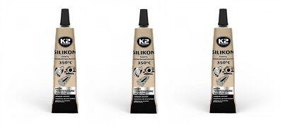 350° Schwarz 21g Elegant Und Anmutig Autopflege & Aufbereitung Mutig 3x K2 Silikon Silikon Hochtemperatur Dichtmasse