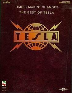 Tesla-Time-039-s-Makin-039-Changes-Songbook-Authentic-Guitar-TAB