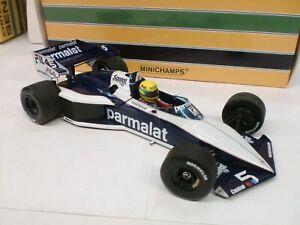 Minichamps 1/18 - Brabham Bmw Bt52b A. Senna