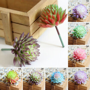 Fake-Succulents-Plant-Garden-Miniature-Fake-Cactus-DIY-Home-Floral-Decor-Use-Hot