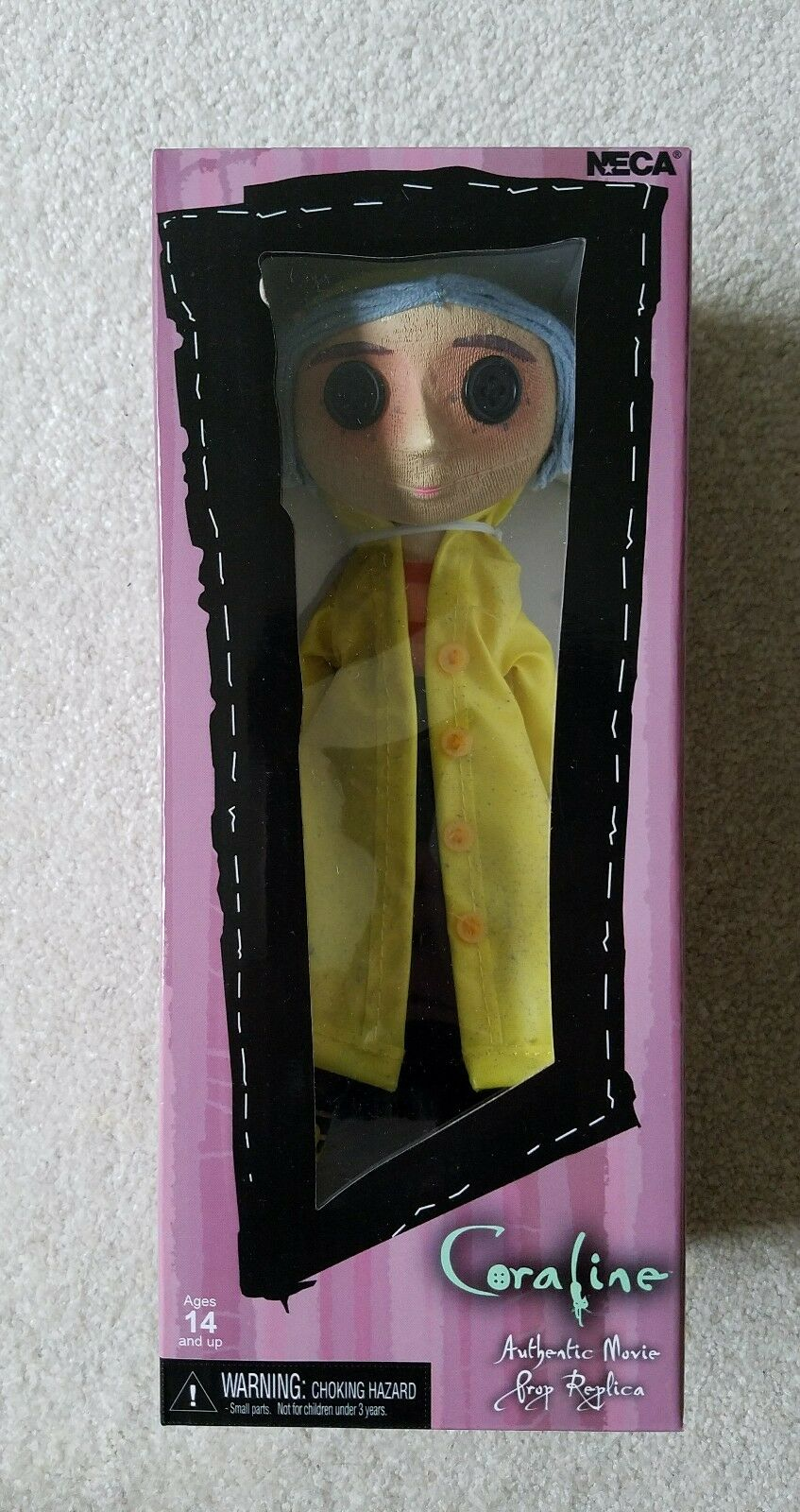 SDCC 2017 Coraline Movie Prop Replica Figure Exclusive Laika Experience Mondo