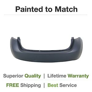 Details about NEW fits 2014 2015 NISSAN VERSA NOTE Rear Bumper COVER Painted