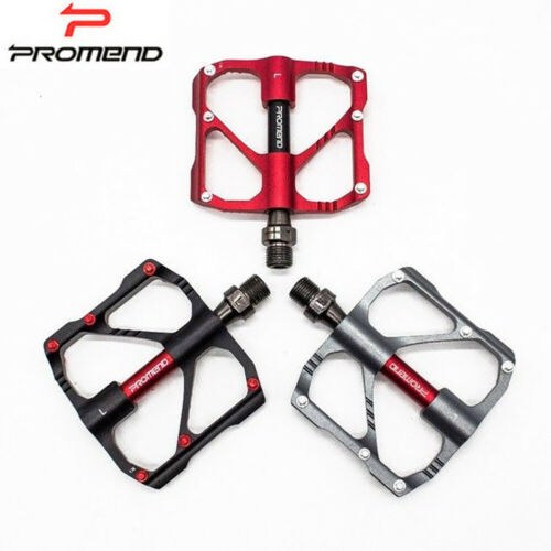 Promend 9//16in 3 Ball Bearings MTB Road Bike Pedal Strong Crawling Light Weight