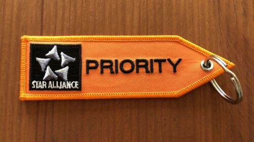 Lufthansa First Business Class STAR ALLIANCE Priority Valise Bagages Remorque