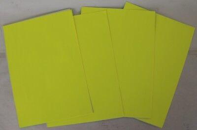 Plotterfolie Papier selbstklebend Permanent Matt DIN A4 Format basteln Neu