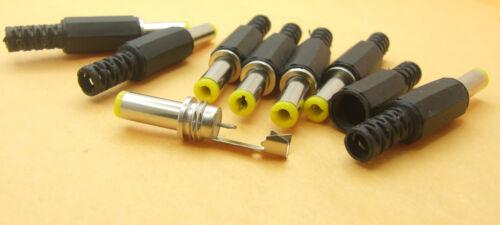 100PCS 14x5.5X 2.1mm DC Male plug shrapnel for TV CCTV camera Charger Power Plug