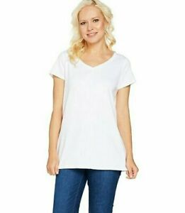 Isaac-Mizrahi-Live-Essentials-Pima-Cotton-V-Neck-Tunic-White-Large-A289636