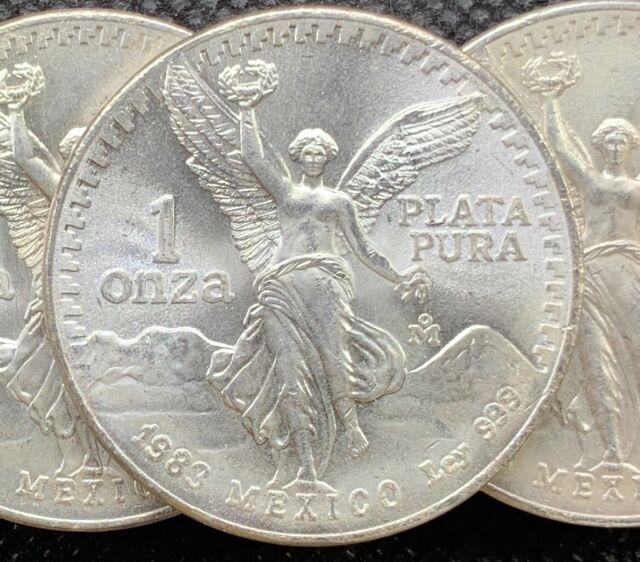 2000 1 OZ SILVER LIBERTAD BU