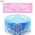 Flower Lace Silicone Mold Sugar Craft Fondant Mat Cake Decorating Baking Tool