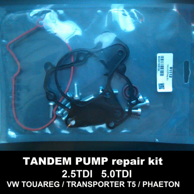 Seals kit for fuel vacuum tandem pump 070145209F 070145209H 070145209J 2.5TDI