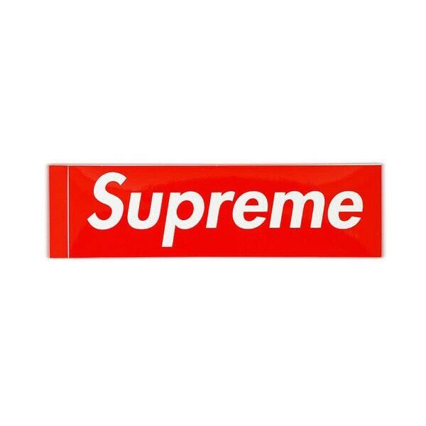 Supreme Box Logo Sticker, 100% Genuine Authentic, netwerk,