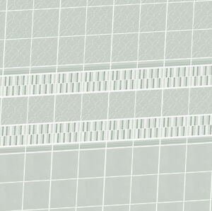 Dolls-House-Wallpaper-1-12th-scale-Bathroom-Grey-Tiles-Quality-Satin-Paper-14T