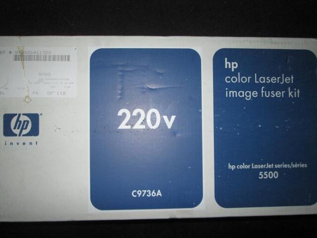 Genuine HP C9736A COLOR LASERJET IMAGE Fuser Kit 5500 series 220v