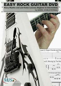 Rock & Blues Guitar Lesson DVD with Lead Scales, 12 Bar Blues Rhythms + more