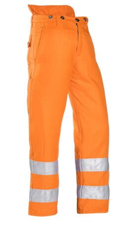 1ST9 SIP Hi-Viz Orange CHAINSAW LeggingsType A Chainsaw One Size