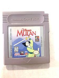Disney-039-s-Mulan-ORIGINAL-Nintendo-Game-Boy-Game-TESTED-Working-amp-Authentic