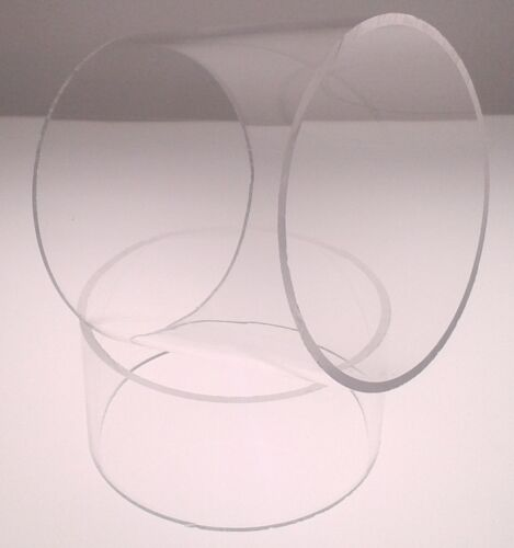 Clear Acrylic Perspex® Tube 60mm Outer Diameter x 50mm Inner x 5mm Wall x 1000mm