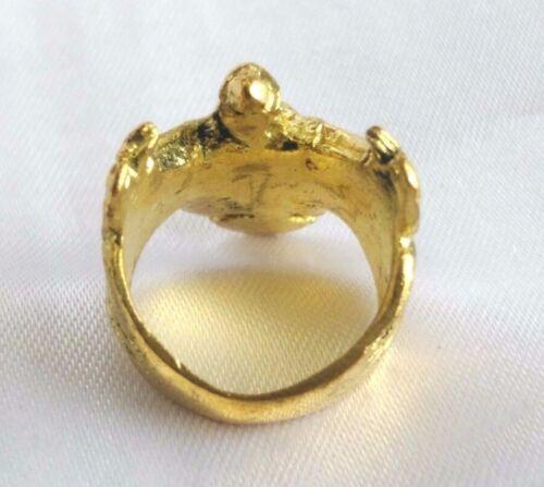 Ring  Brass Garuda Talisman King Powerful Honor Yant Thai amulet Buddha # 62