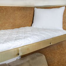 Ultima–Plush Mattress Pad Diamond Quilted Bed Fitted 34x75 Single Bunk Camper RV