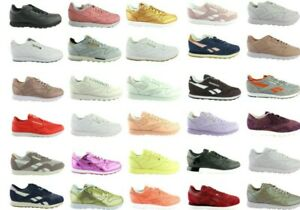 Reebok-Classic-Cuir-Leather-x-face-Spirit-Hommes-Femmes-Chaussures-Shoes-Baskets