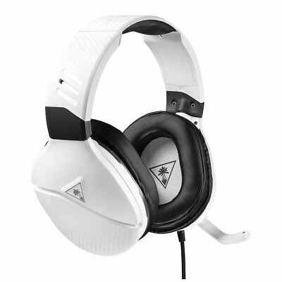 Turtle Beach Recon 200 Amplified Gaming Headset For PS4 PS4 Pro Xbox One White