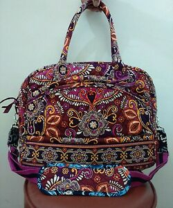 Vera-Bradley-Crossbody-Messenger-Laptop-Travel-Bag-in-SAFARI-SUNSET