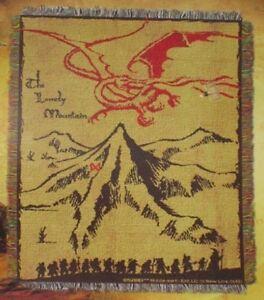 New Gandalf The Hobbit Desolation of Smaug Thorin Bilbo Kili Gift Throw Blanket