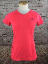 3d17259f9efcd Adidas Mi Supernova Short Sleeve Active T Tee shirt Top Womens Pink Size M