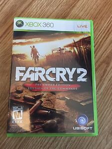 Far-Cry-2-Preorder-Edition-Xbox-360-Cib-Game-Complete-Mint-Disk-Nice-Rare-W1