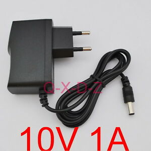 Ac-100v-240v-adaptador-dc-10v-1a-conmutacion-Power-Supply-1000ma-UE-5-5mm-x-2-5mm