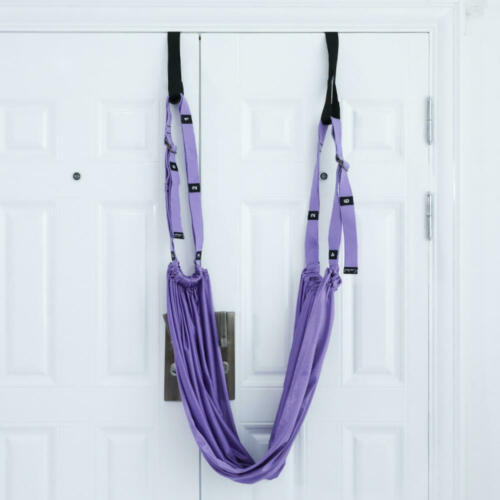 Adjustable Aerial Yoga Strap Swing Stretching  Exercises Flexibility Trainers