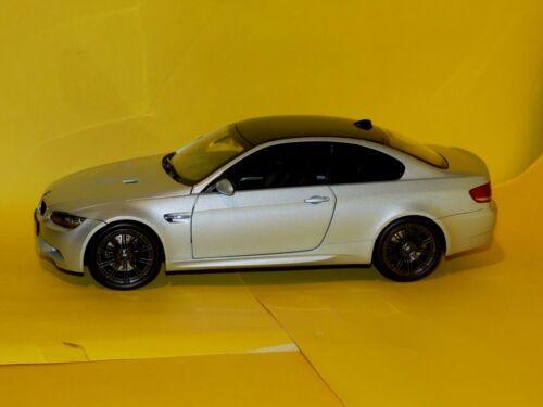 BMW 3 SERIES M3 COUPE E92 2007 SILVERSTONE II KYOSHO 08736S 1:18