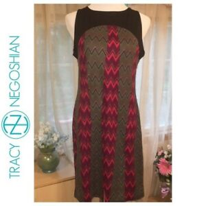 2e7297ac7fe4f Details about FREE SHIPPING NWT Joan - Zig Zag Dress (L)