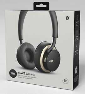 U Jays Wireless Bluetooth Headphones Ps4 Phone On Ear Touch Controls Black Gold Ebay