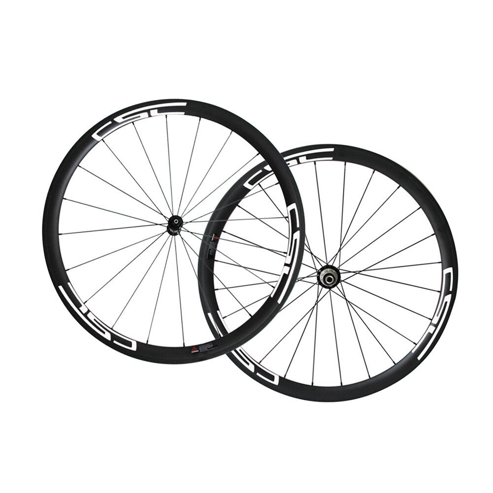 CSC Road Wheelset 38mm Clincher Carbon Bicycle Wheels R36 hub Pillar 1432 spokes