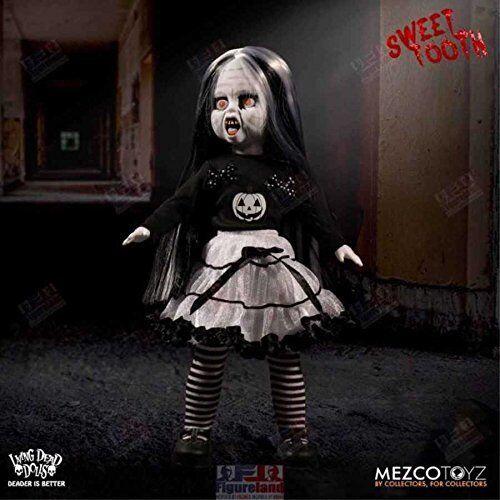 LIVING Dead DOLL Sweet Tooth negro e Bianco Halloween Ltd 666 in tutto il mondo