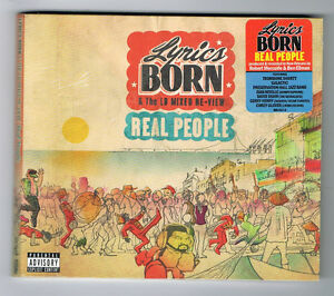 LYRICS-BORN-amp-THE-LB-MIXED-BE-VIEW-REAL-PEOPLE-13-TITRES-2015-NEUF-NEW