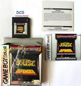 Arcade-Hits-Joust-Defender-Nintendo-Game-Boy-Color-1999-auch-fuer-Advance