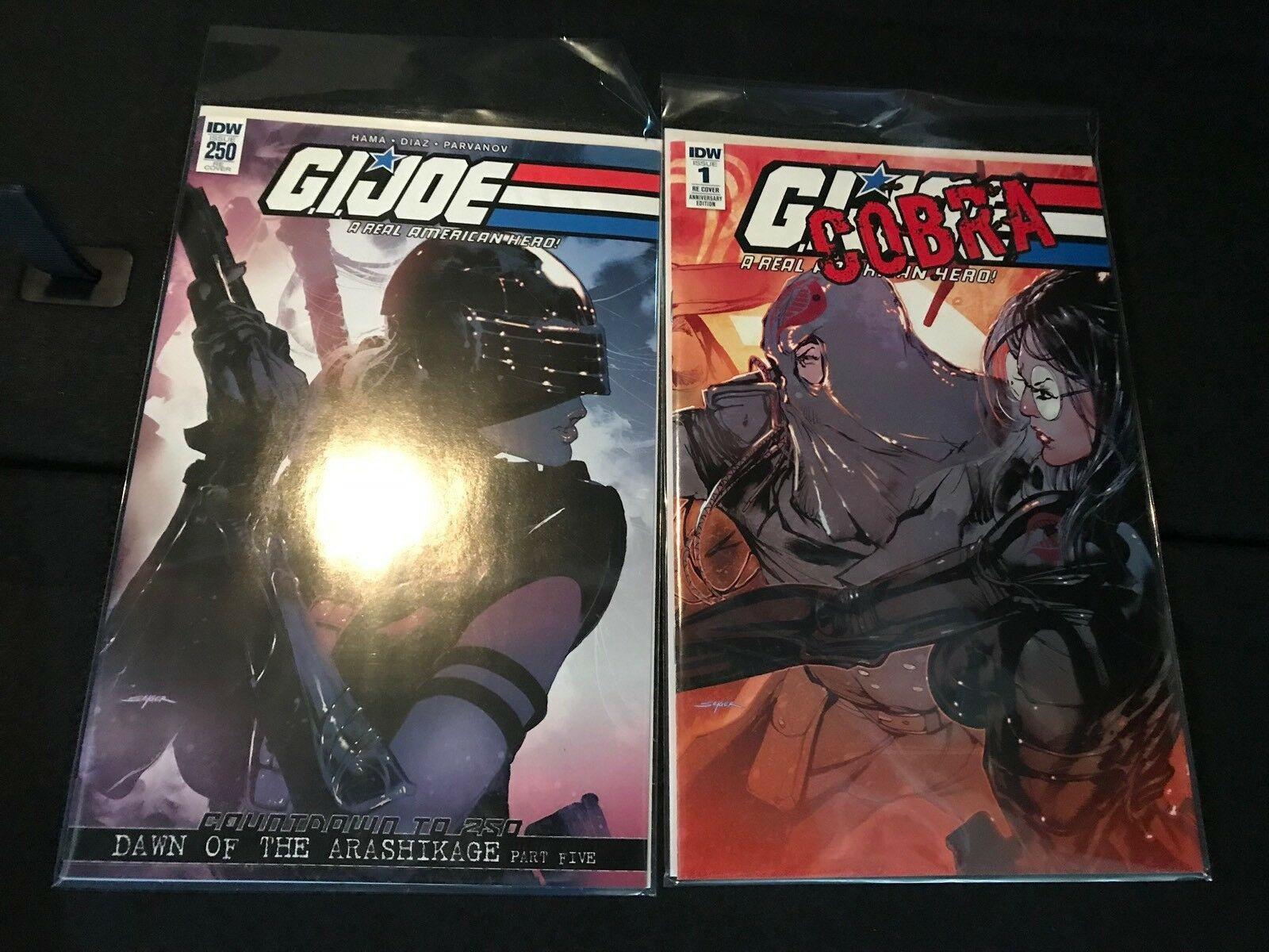 Joecon 2018 GIJoe  A Real American Hero Comic Book Issue & Variant Le500