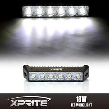 """18W 7.5"""" DRL Daytime Running LED Eagle Eye Spot Fog Side Light White 6000k 6K"""