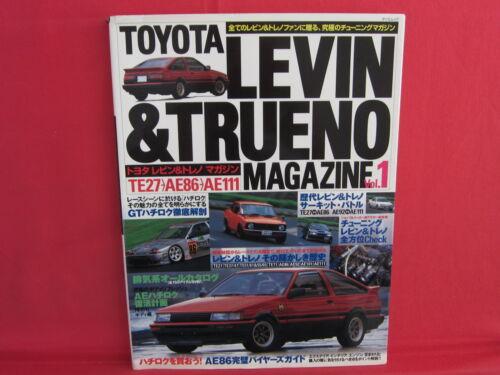 TOYOTA Levin /& Trueno Magazine #1 Perfect Book