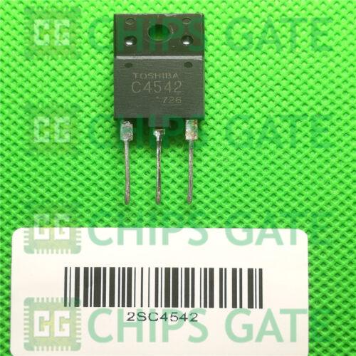 negativo positivo negativo epitaxial tipo Amplificador De Potencia TO-3P 4PCS 2SC4542 Encapsulation