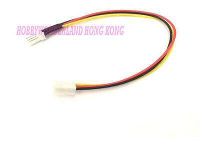 KF2510 2.54mm 3-Pin Female Connector 30cm 22AWG wire lead for PWM CPU Fan x 15