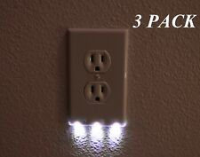 Buy Guidelight Outlet Wall Plate With Led Night Lights No Batteries
