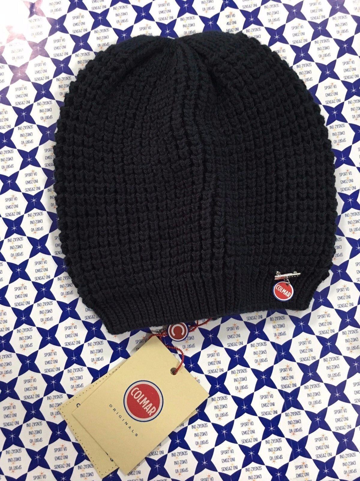 Cappello Berretto Lana Colmar Donna - Ciondolo Logo Boku - Vari Colori -  4810  e58ca999a1e1