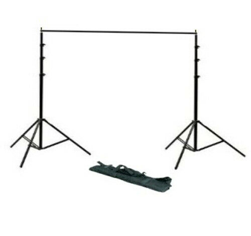 2m x 2m Photo Background Backdrop Support Stand System Kit Photography Video Set
