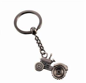 Men S Women S Key Chain Fob Ring Gunmetal Tractor Farm Farming  Kr18 ... 3202a7808